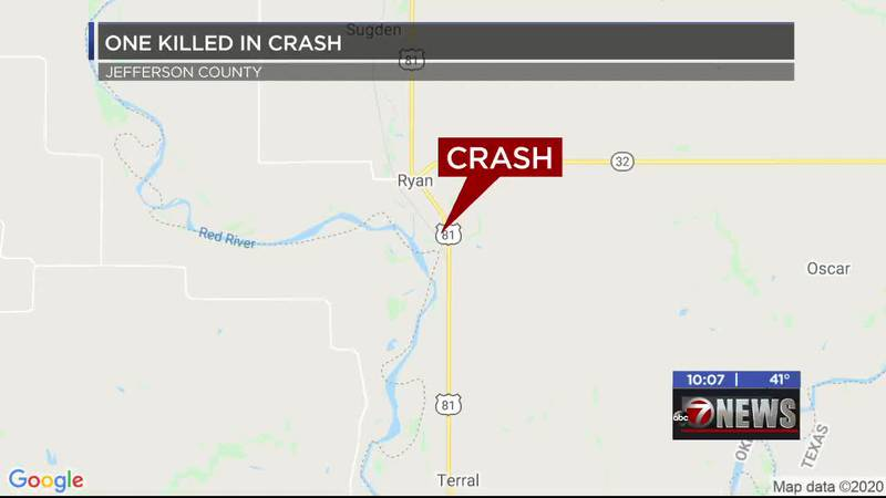 One person is dead after a crash in Jefferson County Thursday morning.