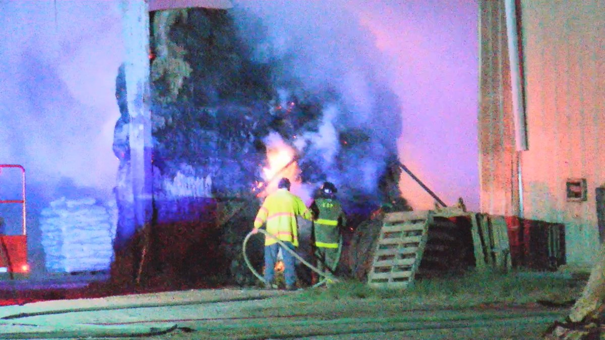 Multiple fire departments across Comanche County worked to get a fire at a barn out this morning.