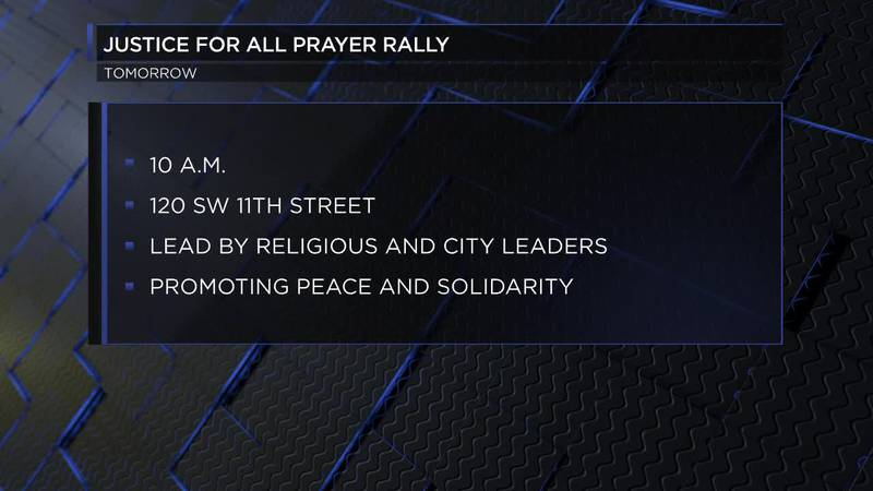 Saturday morning the Justice For All Prayer Rally will be held in Lawton. The event is to...