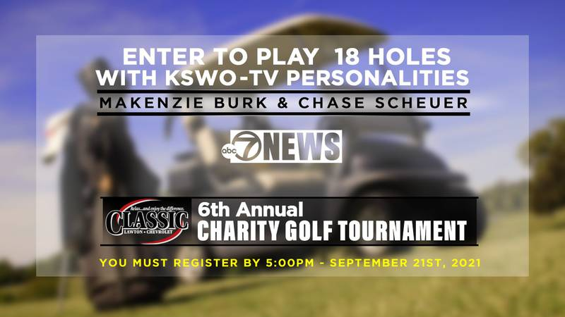 You can enter for a chance to play golf with Makenzie and Chase.