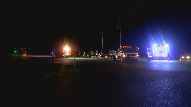 A crash that happened late Monday night in Comanche County caused two teens to be flown to OU...