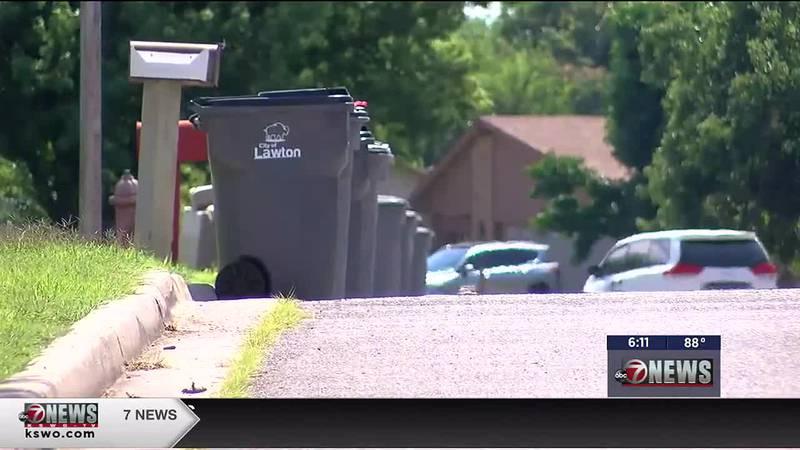 Lawton trash pickup is delayed