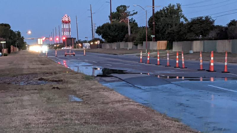 Some people on the west side of Lawton are waking up without water this Thursday morning