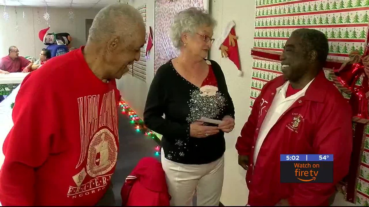 The Lawton Fort Sill Kappa Alpha Psi Fraternity is giving back to those less fortunate this...