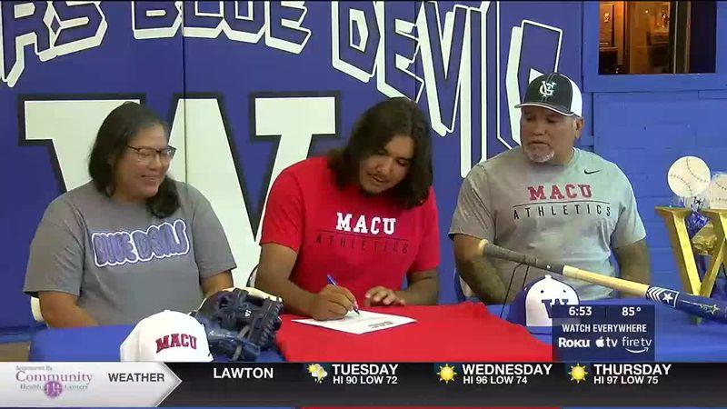 Walters senior signs with NAIA baseball program