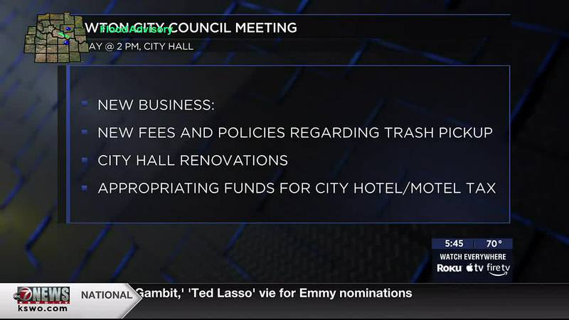 GMT takes a look at just some of what Lawton City Council will be talking about at its meeting...