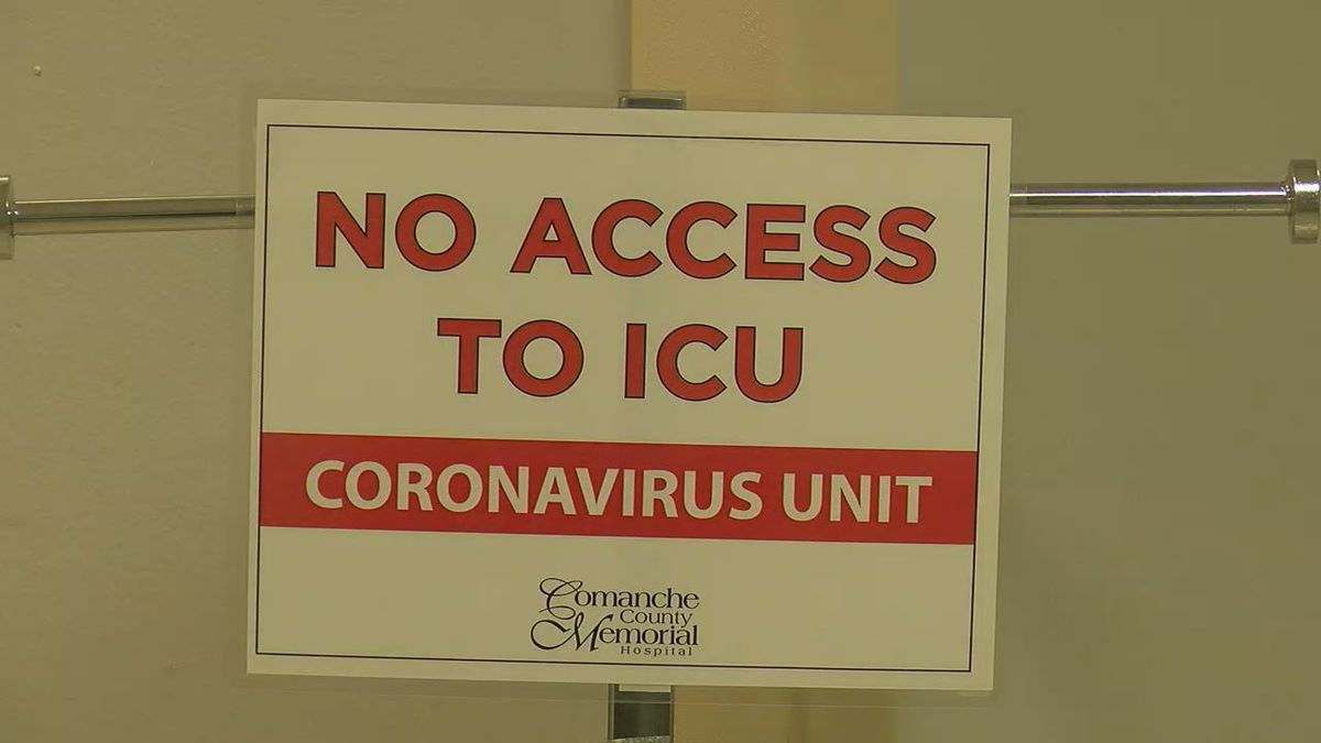 A worrisome statement from the Chief Medical Officer of Comanche County Memorial Hospital...