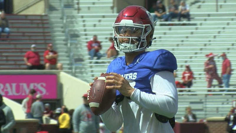 Newcomers shine in OU Spring Game