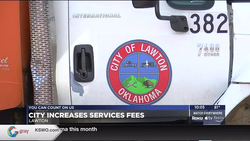 Lawton City Council voted to increase services fees including water, sewer, refuse and landfill...