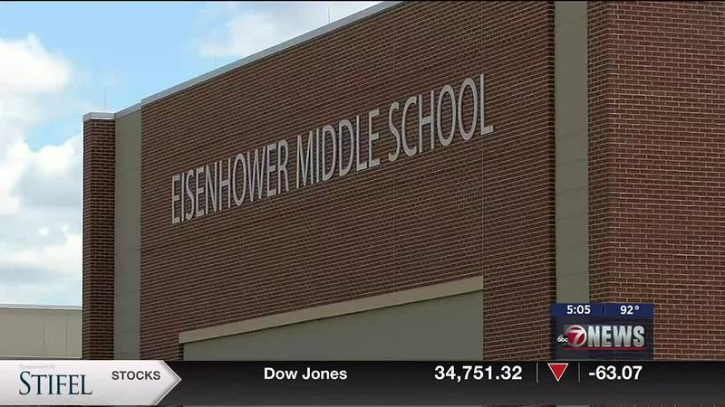 A shooting threat was made against Eisenhower Middle School on Sept. 16.