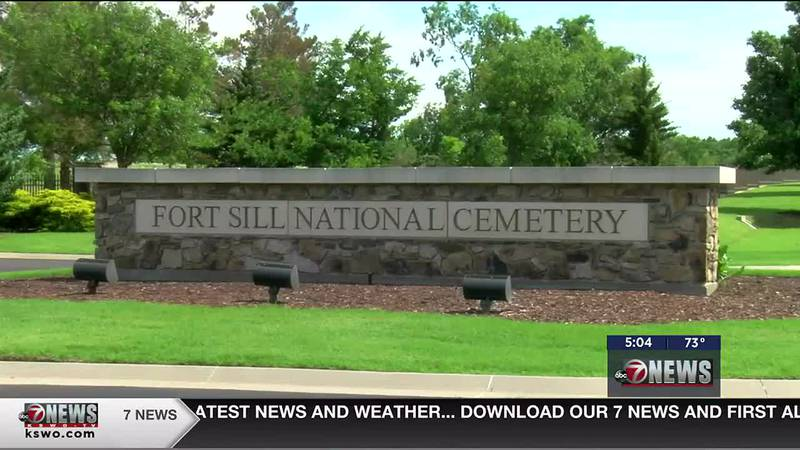 The Fort Sill National Cemetery held their Memorial Day wreath laying ceremony Friday.