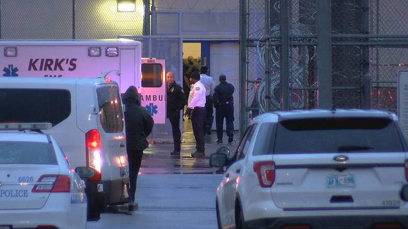 Emergency crews responded to GEO Friday evening after a man was stabbed.