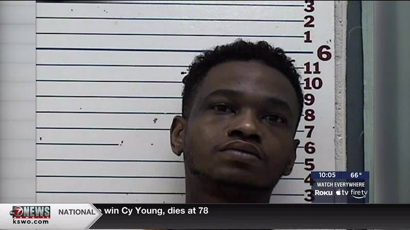 A man was arrested by Lawton Police after they say he was trafficking in illegal drugs and led...