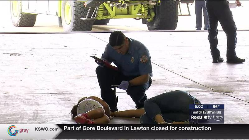 Local first responders are better equipped to handle a mass casualty event at the Lawton Fort...