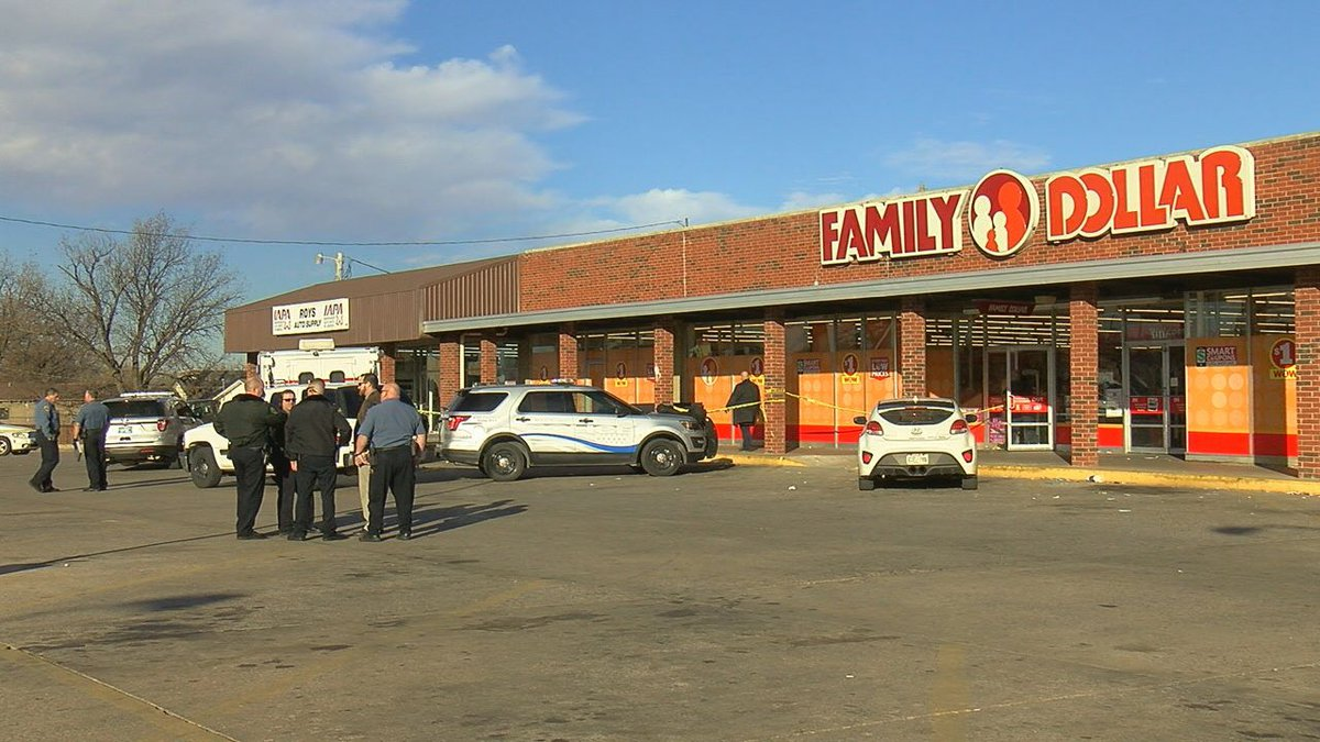 A Lawton woman says she was at work Thursday when she witnessed a man shoot and kill a woman...