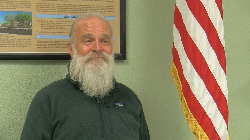 Medicine Park has a new mayor and he says he's excited to continue the great work already...