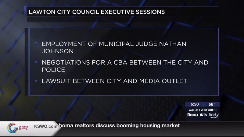A look at Lawton City Council's agenda as they get ready to meet on Tuesday April 27th.