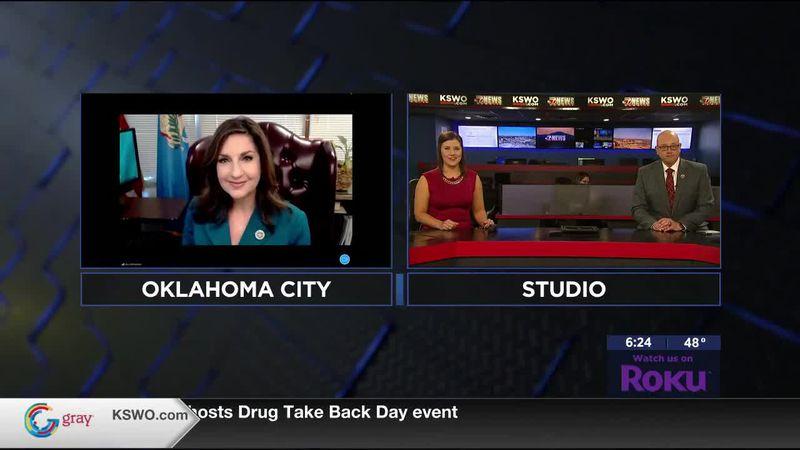 Oklahoma State Superintendent of Public Instruction Joy Hofmeister talks to 7News about Gov....