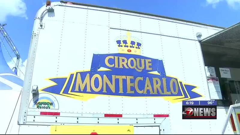 Driving past Lawton Central Mall, something may have caught your eye... A big top! Cirque...