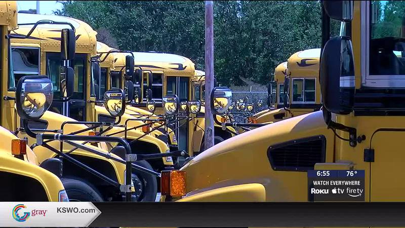 School is now underway in Lawton.