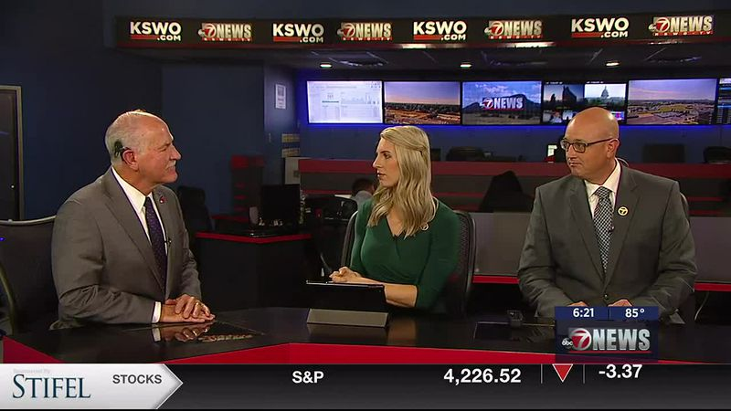 Lawton mayor Stan Booker spoke with Monte and Makenzie about the latest going on in the city.