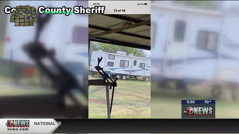 Cotton County Sheriff's arrest burglary suspects; still looking for property