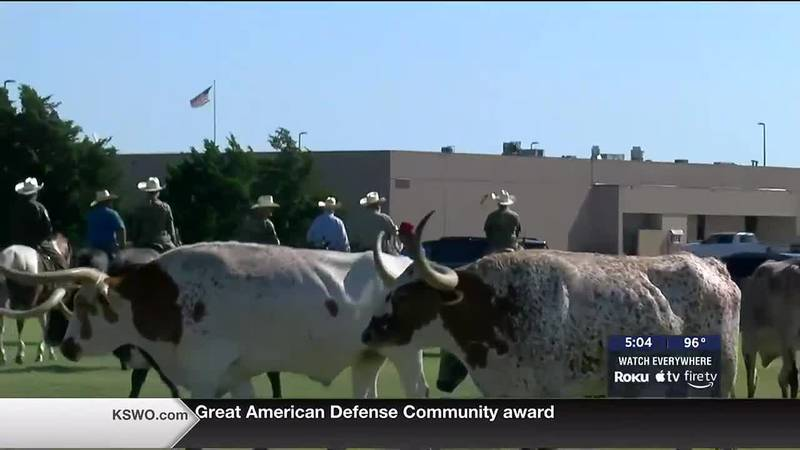 Altus Air Force Base holds 23rd Annual Cattle Drive.