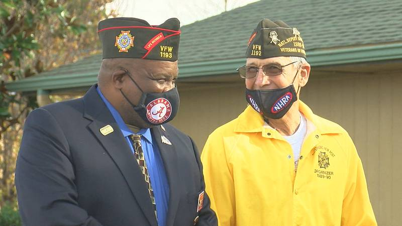 VFW Post 1193 celebrated it's grand opening Saturday afternoon