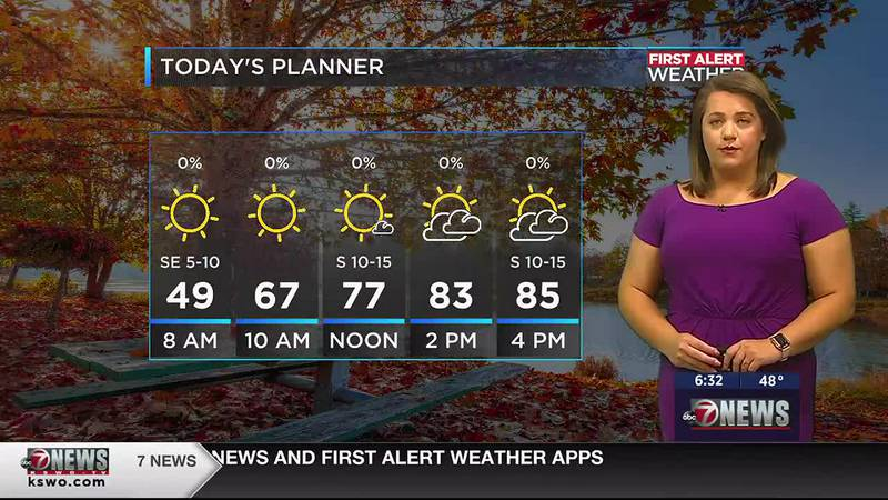This Thursday will consist of clouds building throughout the morning hours. Despite the cloud...