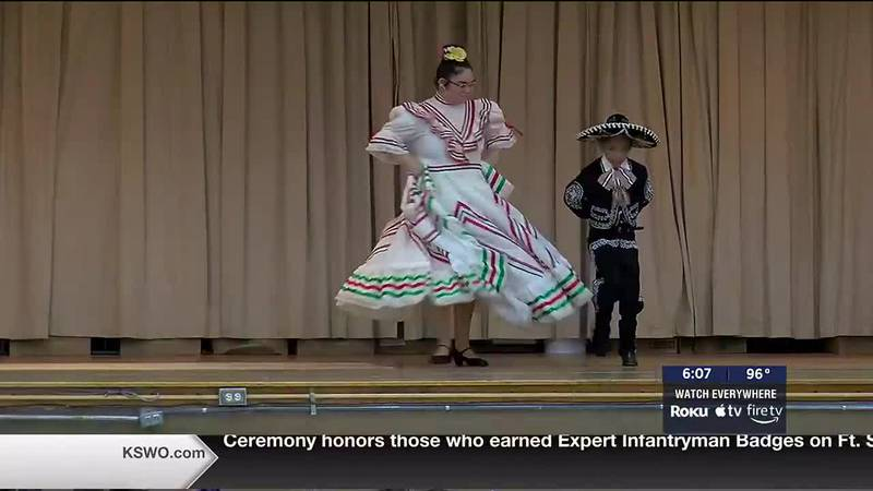 The group performed in honor of National Hispanic Heritage month and to teach kids about the...