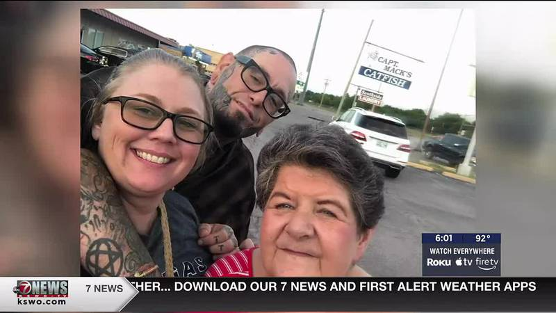 The wife of Shawn Tillison, the man who was killed in an officer-involved shooting in Duncan,...