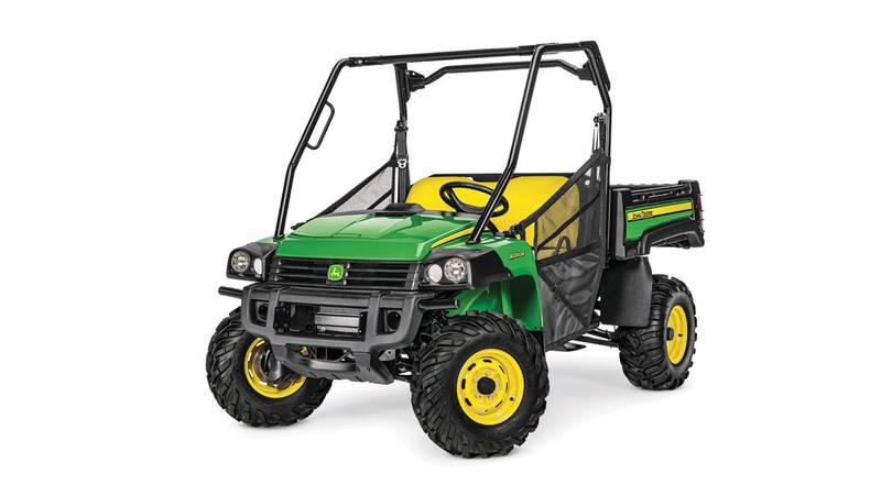 "Police Chief Tim Murphy says a John Deere ""Gator"" all-terrain vehicle was stolen, the same..."