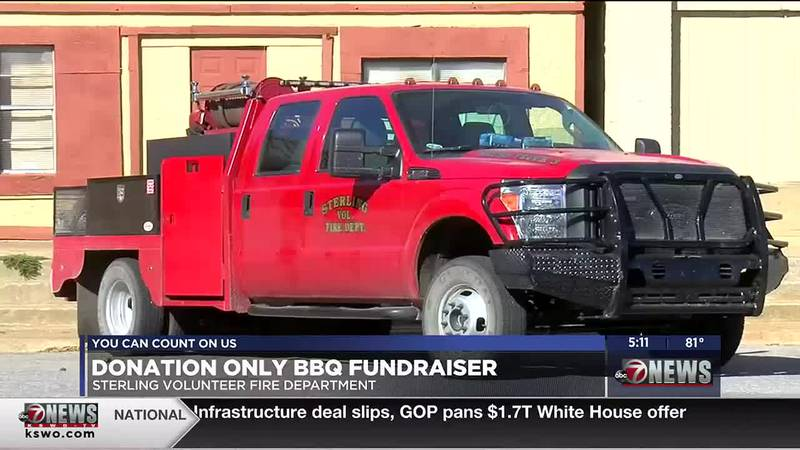 Tommy Morse joins 7News to discuss The Sterling Volunteer Fire Department's BBQ fundraiser...