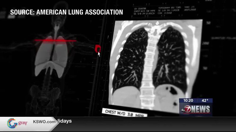 The American Lung Association says someone in the United States will die from lung cancer every...