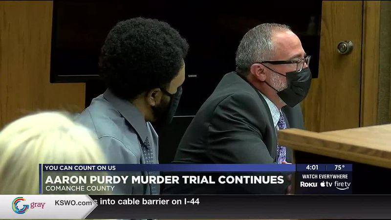 Aaron Purdy's murder trial continued Wednesday in Comanche County.