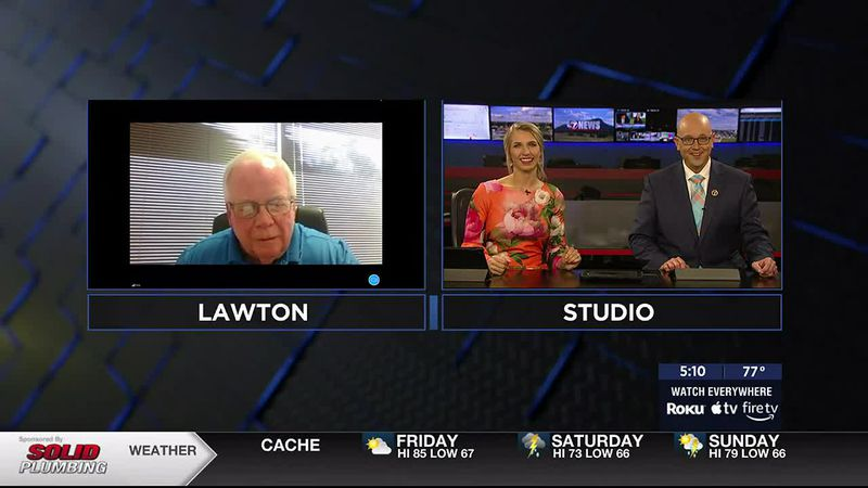 Rob Rooker talks with 7News about the Parkinson's Foundation of Oklahoma's 4th Annual Lawton...