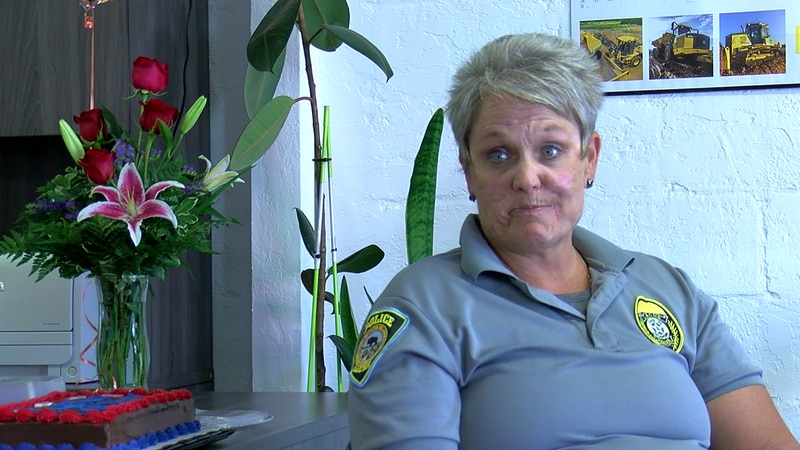 Chief Donna Kimmel is retiring after years of service in the Air Force, as a sheriff's deputy...