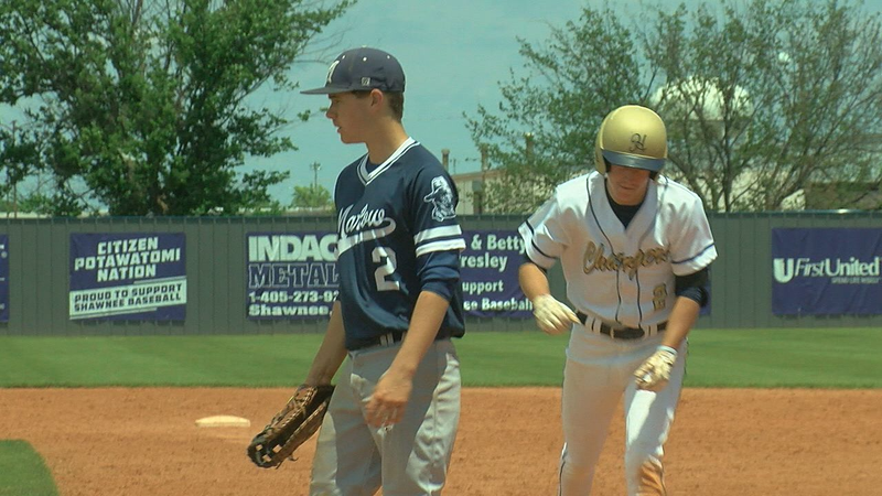 Marlow falls to Heritage Hall in 4A State Semifinals