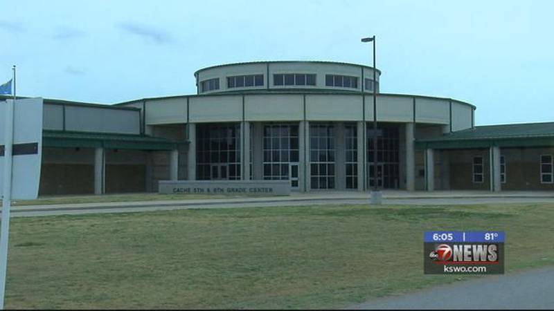 Cache Public Schools have been placed on lockdown after a domestic altercation in Lawton.