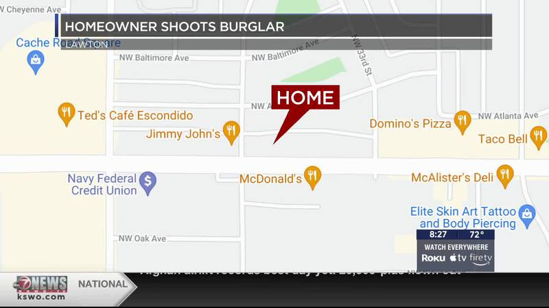 A burglar is currently recovering after being shot while attempting to enter someone else's...