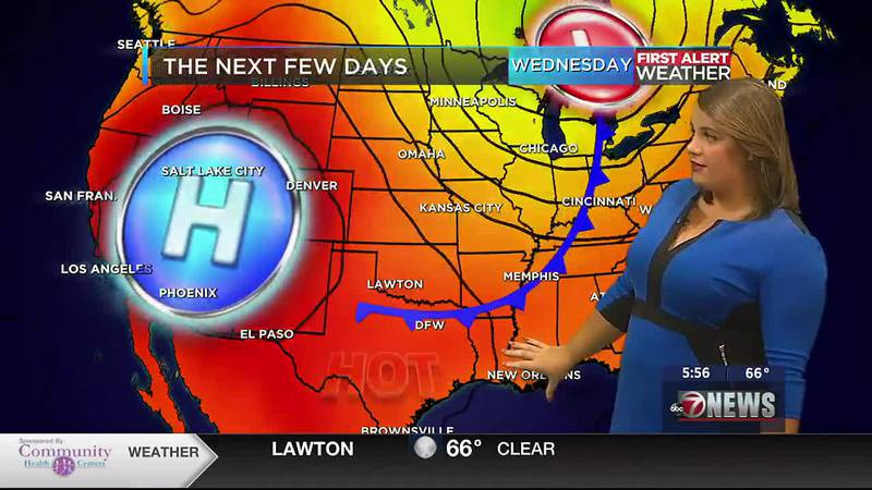 Seasonable weather through mid-week with highs more like summer by the weekend