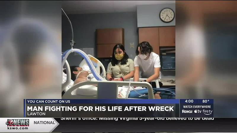 A crash with a drunk driver sent Kaiyo Raethong to the ICU at OU Medical Center a day before...