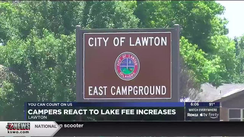 Lawton City Council voted to increase campground fees at Tuesday's meeting. It goes into effect...