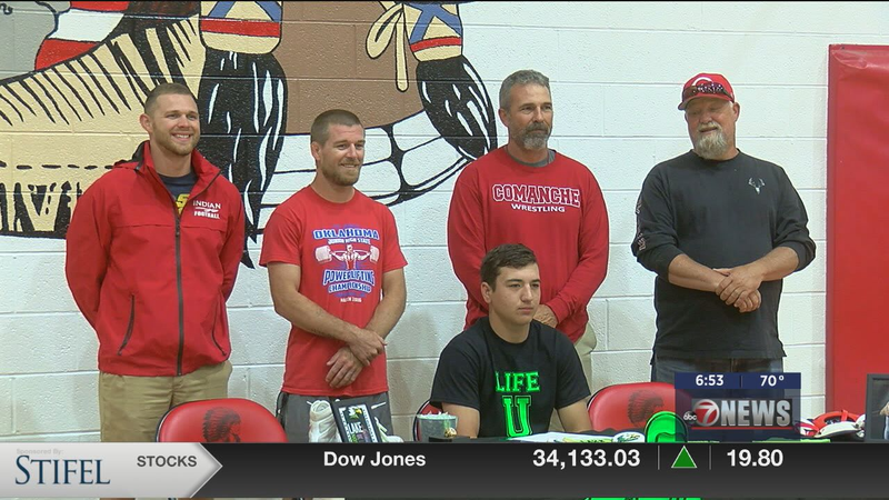 Comanche's Epperson headed to Life University