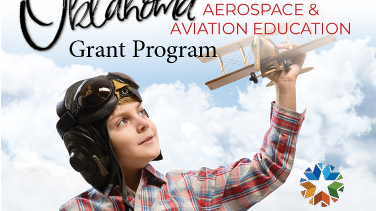 The last day to submit a grant application to the Oklahoma Aeronautics Commission for their...