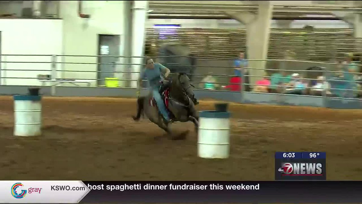Grand National Horseman Association's annual playday finals are underway at the Great Plains...