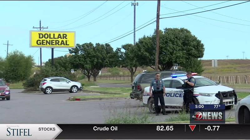 Police were called to reports of shots fired Thursday afternoon in Lawton.