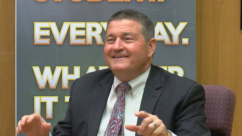 We're hearing from Lawton Public Schools' newly named Superintendent for the first time.