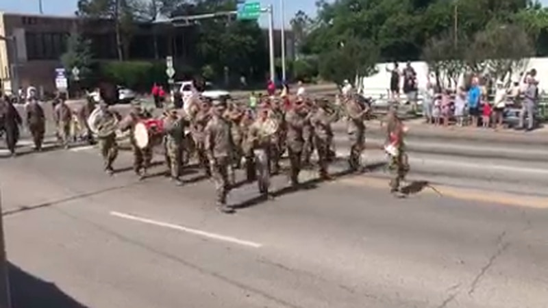 The 2021 Armed Forces Parade went through downtown Lawton Saturday.