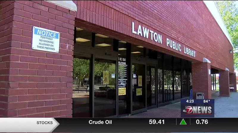 Tina King talks with 7News about the events Lawton Public Library has planned for the month